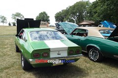 1972 Chevy Vega GT (dfirecop) Tags: dfirecop auto antique classic car historic truck carshow vehicle 1972 chevy vega gt v8
