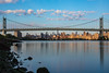 Triborough Bridge (Amar Raavi) Tags: triboroughbridge robertfkennedybridge eastriver bridge queens astoria newyorkcity dawn sunrise sky water reflection manhattan skyline nyc newyork ny unitedstates morning outdoor architecture cityscape hellgate suspensionbridge uppereastside ues