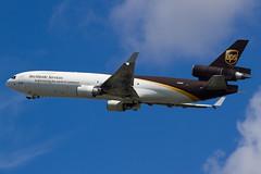 UPS | McDonnell Douglas MD-11F | N258UP | 11.08.2016 | Warsaw - Okecie (Maciej Deli) Tags: united parcel service ups mcdonnell douglas md11f cargo freighter n258up trijet warsaw chopin airport