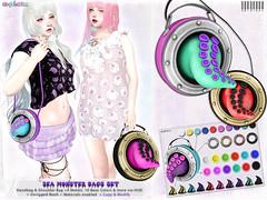 [ bubble ]  Sea Monster Bags Set (::: insanya ::: & [ bubble ]) Tags: secondlife bubble originalmesh accessories bag bags mesh hud whimsical discounted octopus tentacle seamonster