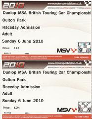 06th June 2010 BTCC Oulton Park (rob  68) Tags: 06th june 2010 btcc oulton park dunlop msa tickets £24