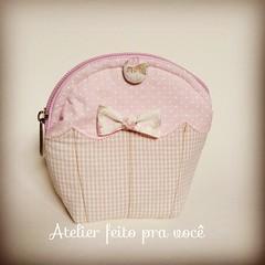 Porta moedas cupcke  (Ana Ribeiro2010) Tags: lembrana cupcake nascimento chdebeb lembrancinha portamoeda portanquel