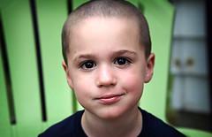 {Julian 365} Day 322 - Julian (citygirlny10305) Tags: boy portrait toddler child documentary naturallight browneyes crewcut 365project justface canon5dmarkii