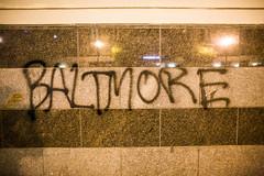 Baltimore (Thomas Hawk) Tags: california america graffiti oakland unitedstates unitedstatesofamerica protest eastbay fav10 vandalsim mayday2015 maydayforfreddiegray