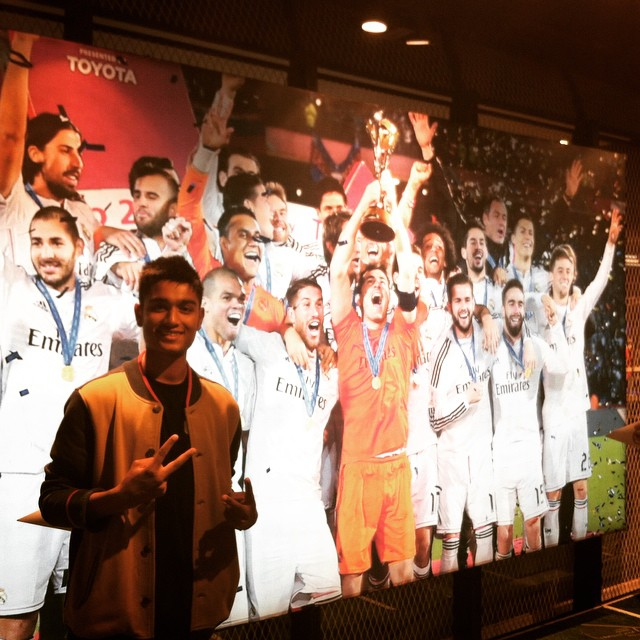 After yesterday night. I respect Real Madrid now. I can call it my 3rd favourite team😝. Real Madrid vs Juventus #life #live #love #football #madrid #realmadrid #halamadrid #wearitorfearit #awesone #experience #instagram #insta