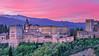 Alhambra Palace, Granada, España (Xuyong Ying 应旭永) Tags: architecture sunrise spain palace alhambra granada