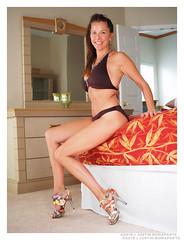 Angela - Launch Pad (jfinite) Tags: beauty fashion model glamour body environmental bikini portraiture figure heels swimsuit swimwear physique
