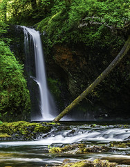 Butte Creek Falls I-edit (Photos by Wesley Edward Clark) Tags: oregon waterfall silverton scottsmills buttecreekfalls