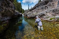 Shoot It (john.c.arnold) Tags: fishing hiking jim cliffs pools flyfishing casting dearborn brandly