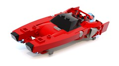 Rival Gears inspired - Bolt (wray20641) Tags: game car mini gears futuristic racer moc rival garc