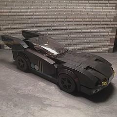 Batmobile, version 4.2 (njgiants73) Tags: city dark comics dc lego batman knight superheroes gotham batmobile asylum origins moc arkham