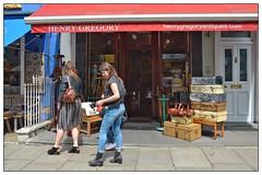 Vintage Shop, London (junepurkiss) Tags: london antiques nottinghill vintageshop sportsmemorabilia
