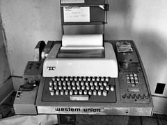 (o texano) Tags: teletype westernunion laboratory urbex forgotten decay abandoned texas
