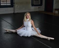 Black, White, and Elegant (priceisright2293) Tags: portrait ballet paul dance model nikon ballerina shoes c einstein dancer buff pointe split tutu flexible strobes d600 strobist