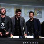 Jared Padalecki, Jensen Ackles, Misha Collins & Mark A. Sheppard thumbnail
