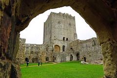 Inner bailey of Portchester Castle (Andrey Sulitskiy) Tags: uk england portchester hampshire