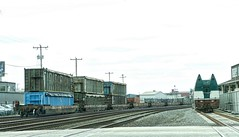 Down in Seattle (robinlamb1) Tags: trains railway amtrak containers containercarriers gloomyday clouds earlyspring pacificnorthwest