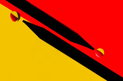 billiards (bresciano.carla) Tags: red colors silhouette yellow pentax drop