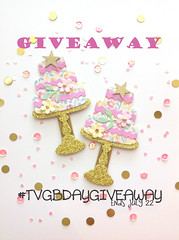 Clips tvgbdaygiveaway pic2 (thevintagegoose) Tags: cake clip birthday giveaway instagram planner