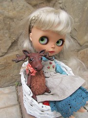 moose and Hanter (thetaeridani) Tags: blythe blythedoll pet for moose toy