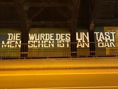 Wrde  (mkorsakov) Tags: dortmund city innenstadt nordstadt brcke bridge graffiti parole wand wall installation