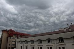 Thunderstorm Clouds over the National Bank (Pavlo Kuzyk) Tags: city sky canon ivanofrankivsk ukraine