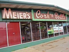 Meier's Cork 'N Bottle, Lincoln, NE (Robby Virus) Tags: lincoln nebraska meiers kenneth meier sign signage cork n bottle liquor alcohol beer wine