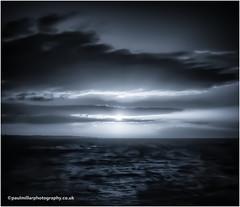 Black and Blue from White (PaulMillarPhotography) Tags: general scotland elie seascape sunrise landscape