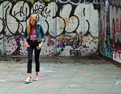 Model 2 (Travis Pictures) Tags: london graffiti southbank southwark embankment city riverthames citycentre citycontest cityscape capitalsoftheworld capitalcity skatepark skateboard skaters nikon d5200 photoshop summer 2016