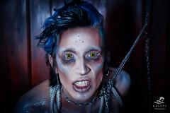 (Kreepy Official) Tags: merman mermen mermaid drag chains sea seapunk mythical creature goth gothic gothboys alternative bluehair blue makeup fx concept body nudeart nuart