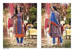 D No. 7706 (Libas B2B) Tags: georgette digital print salwarkameez