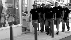 Hat Gang (patrick_milan) Tags: noiretblanc blackandwhite noir blanc monochrome nb bw black white street rue people personne gens streetview homme man viril beau boy garon beautiful portrait face candide