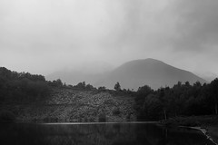 Quarrel #1 (shift.A) Tags: quarrel slate glencoe scotland uk united kingdom landscape black white bw