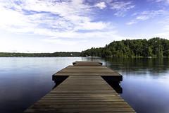 Summer Days (CooT46) Tags: gulllake minden haliburton haliburtonhighlands ontario canada beautiful summer dock landscape longexposure canadian ndfilter polarizer sony sonyalpha sonycanada sonya7ii a7ii outdoor sigmaminiwideii sigma 28mm water lake serene