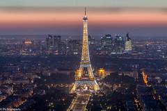 tour eiffel (picfromparis) Tags: paris parisien photography parisian p photo place capital europe rooftop longexposure longexopsure architecture canon france monument