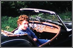 07 - Frank Doyle's Triumph - circa 1958 (Sarge-Jack) Tags: rafbruntingthorpe raf rb66 rb66destroyer b47 england leicester leicestershire triumph tr3