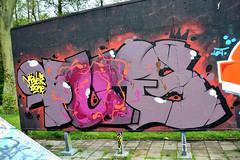 graffiti (wojofoto) Tags: streetart holland haarlem graffiti nederland netherland hof wolfgangjosten hetlandje wojofoto