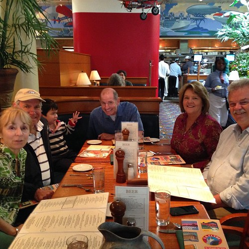 Lunch following NPS Grandparents Day - my first lunch out