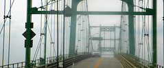 The Thousand Islands Bridge connects New York State and Ontario (C.L.Quote) Tags: musictomyeyes finegold frameit citritgroup thousandislandsbridge worldofdetails photographyforrecreation