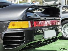 Porsche 959 (GonzaloFG) Tags: detail slr ford chevrolet car sport skyline honda spain italia nissan evolution ferrari camaro mclaren enzo bmw gto jaguar mustang m3 ducati audi lamborghini rs m6 m5 challenge m4 avant v8 rs2 spotting s2000 e30 nsx gallardo amg drifting rs4 typer gtr trackday murcielago etype quattro gt40 f40 r8 f12 rs6 v12 f50 cosworth nismo e46 r34 e36 berlinetta superleggera 458 899 m3csl desmosedici panigale ftype 275gtb rs3 e92 worldcars circuitodeljarama stralade m235i