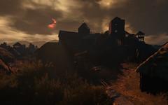 Blood Sun (sinister.sinner) Tags: red wild 3 landscape cd screenshots gaming fantasy rpg projekt hunt witcher sweetfx cdpr witcher3