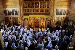 65. Patron Saint's day at All Saints Skete / Престольный праздник во Всехсвятском скиту