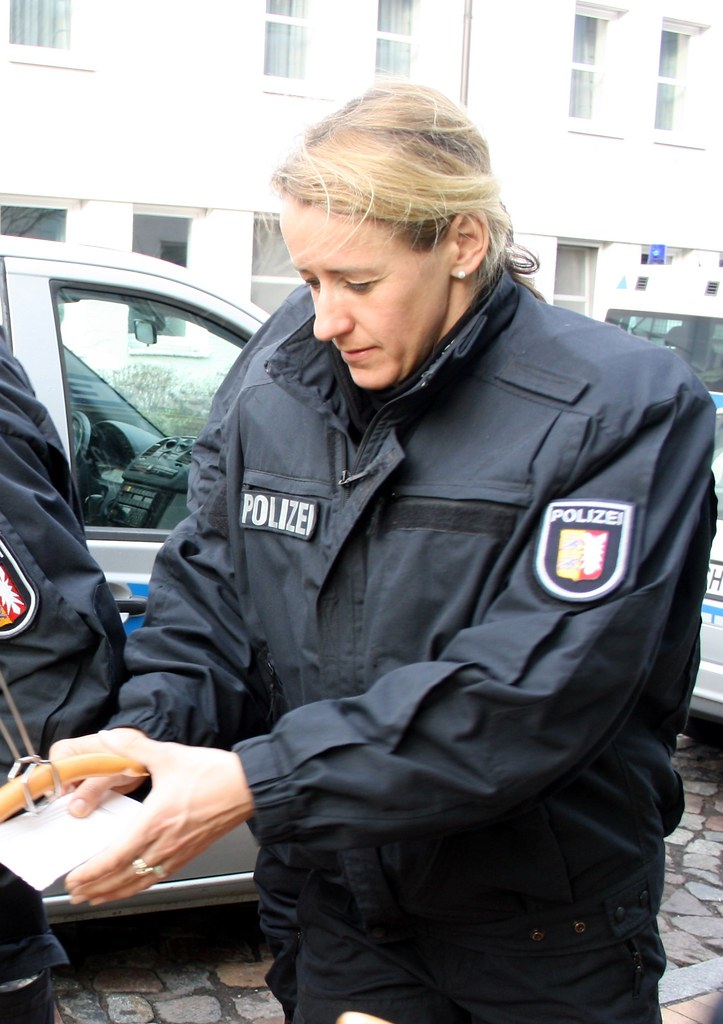German female police cop fucks very hard with busdriver 3