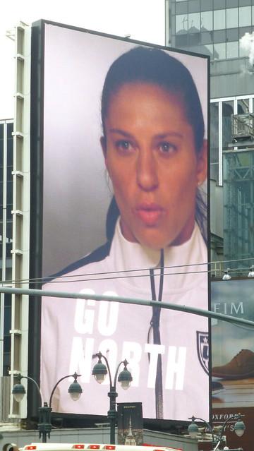 sport women fifa soccer nike billboards league carlilloyd