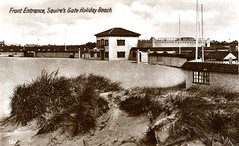 Squires Gate Holiday Camp, Blackpool (trainsandstuff) Tags: vintage postcard retro lytham archival blackpool pontins holidaycamp squiresgate