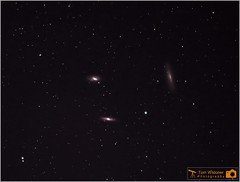 Leo Triplet Galaxies (LeisurelyScientist.com) Tags: june night canon stars photography timelapse leo space images galaxy astrophotography astronomy nightsky stacking cosmos constellation deepspace cosmology astronomer m65 400mm m66 2015 deepsky ngc3628 canon6d astrometrydotnet:status=solved ioptron tomwildoner leisurelyscientist leisurelyscientistcom astrometrydotnet:id=nova1133051