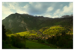 _6232t (solstice002) Tags: light sunset mountains switzerland ray le verbier chble