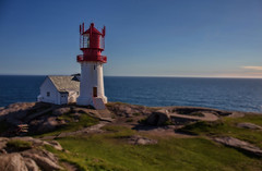 Enlighten me.... (Siggi007) Tags: lighthouse building ts tiltshift miniatyre landscape view sea ocean coast coastline colors processing sight norway sealine seascape safety old tourists travel canoneos6d water lindesnes sunshine outdoors rocks blue green red exposure océanos photo picture portrait panorama awesome scene serene scandinavia details dof daylight flickr farben focus colour beautiful blau norge mood tower architecture outdoor autofocus