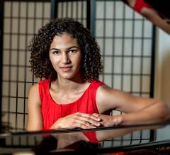 Gabby (kcadpchair) Tags: portrait gabby piano theprofessor gabrielacastillo muhamadskopljak