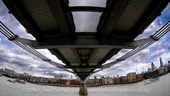 DSC_4462 (reflective perspicacity) Tags: uk england urban bw london thames towerbridge londonbridge europe modernart europeanvacation escalator stpauls eu parliament bigben millenniumbridge tatemodern fisheye britishmuseum nikond300